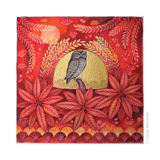 The Answered Owl SOLD