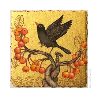 Blackbird Feast SOLD