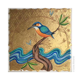 Kingfisher in Spring SOLD