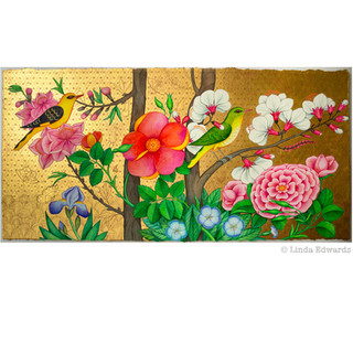 Into the Scented Garden SOLD