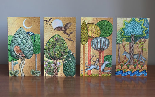 In the Forest - Cards