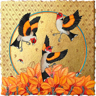 Goldfinch Summer SOLD