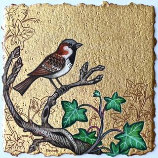Winter Sparrow SOLD