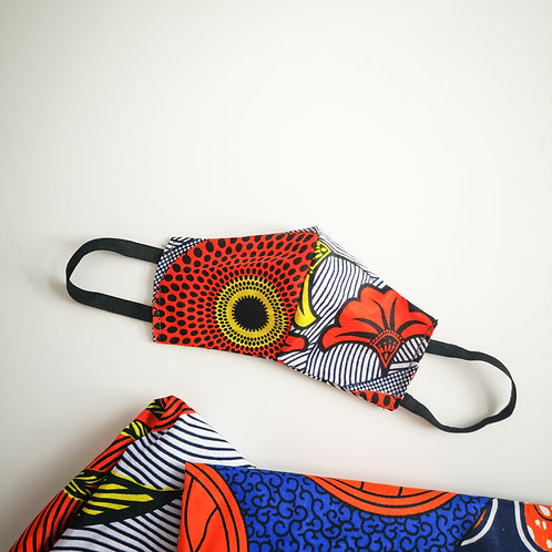 Re-usable Ankara Face Mask