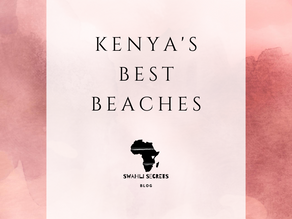 Kenya's Best Beaches
