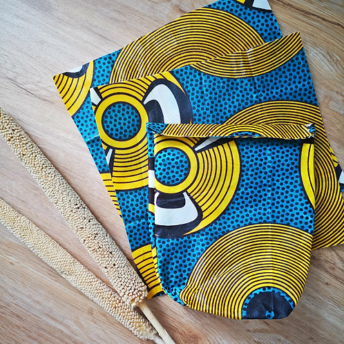 Beeswax Snack Bag and Wraps - Bahari