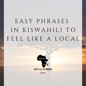Easy Phrases in Kiswahili