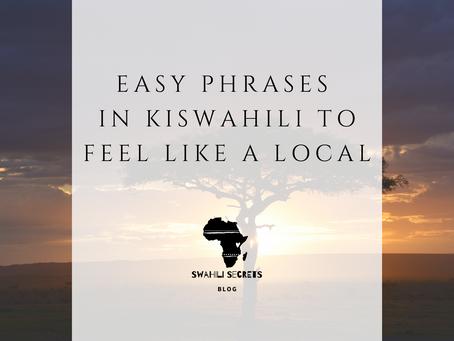 Easy Phrases in Kiswahili