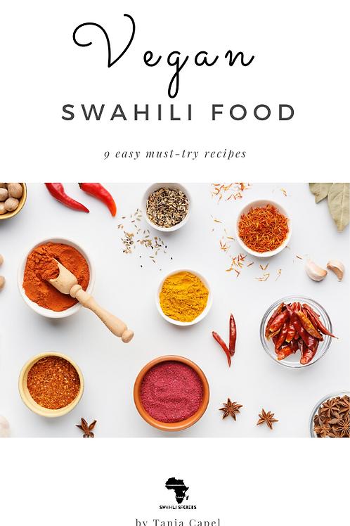 Charitable Swahili Food Recipe Book