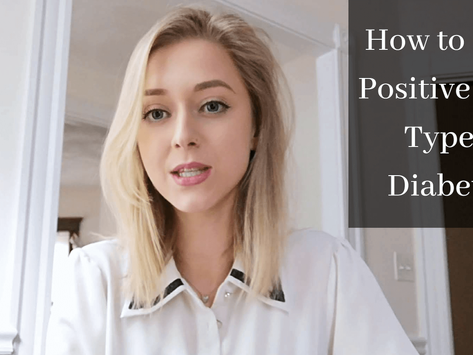 How to Stay Positive about Type 1 Diabetes