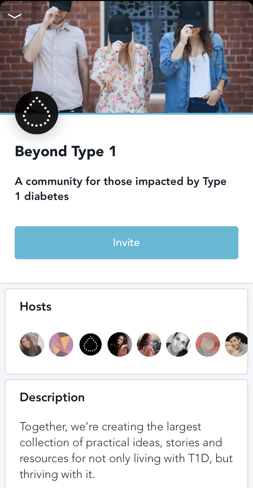 type 1 diabetes community