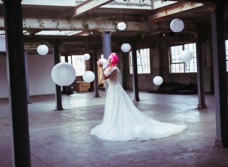 Magical Bridal Photo-Shoot in Edinburgh