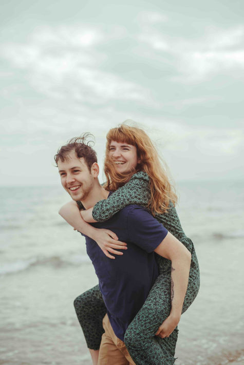 Wild Lovers at Portobello Beach in Edinburgh, Scotland