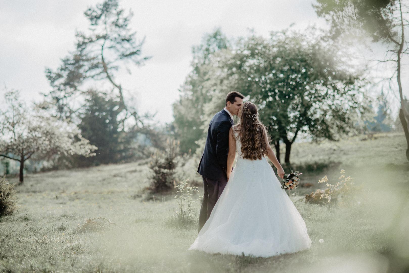 First Wedding Portfolio - Regenweibchen