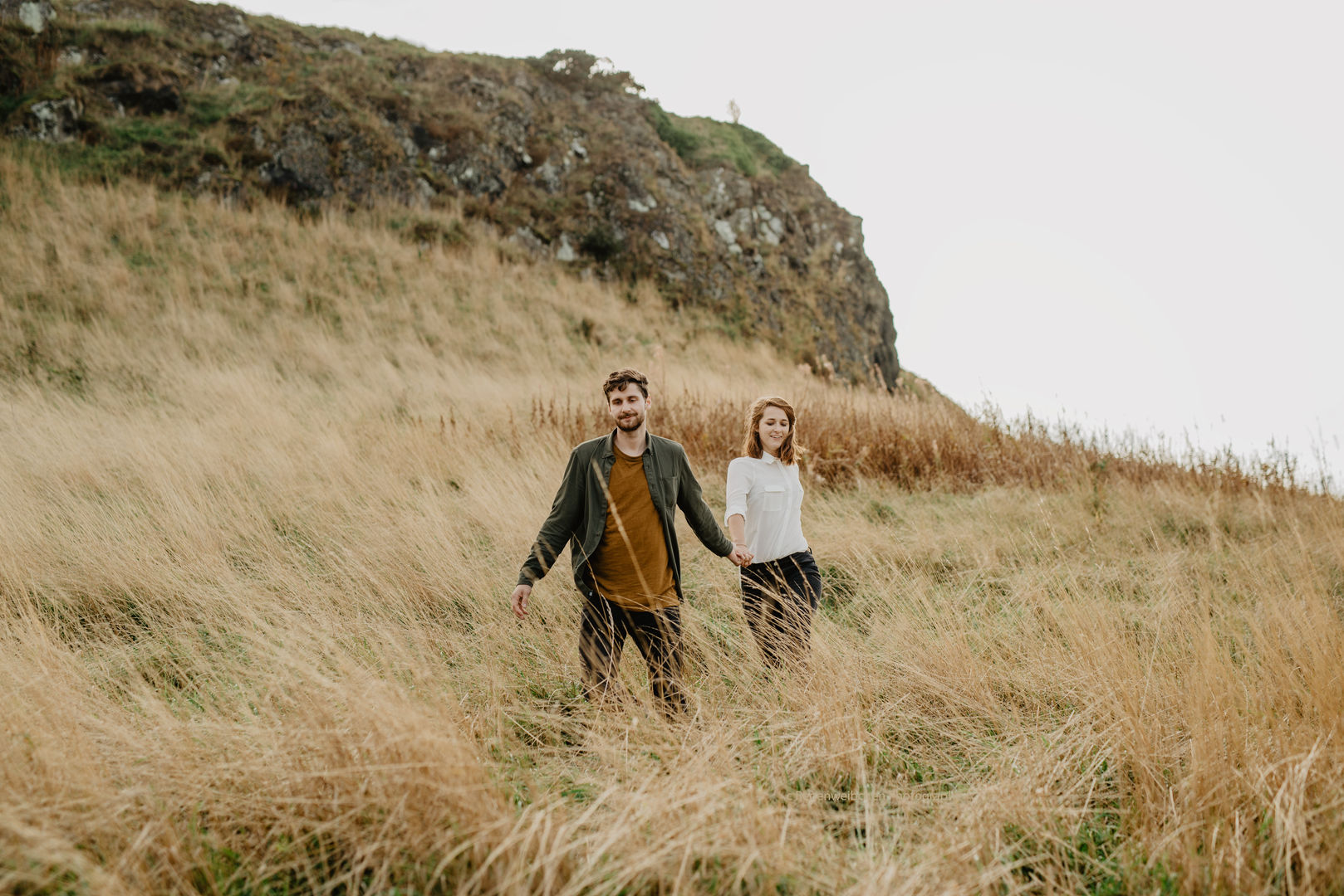 Nature Lovers couple-photoshoot in Scotland