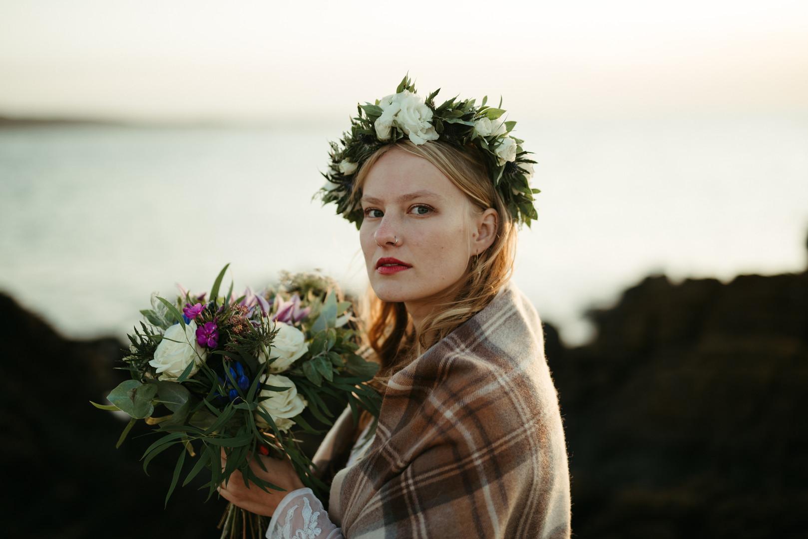 Moody Wedding in Scotland