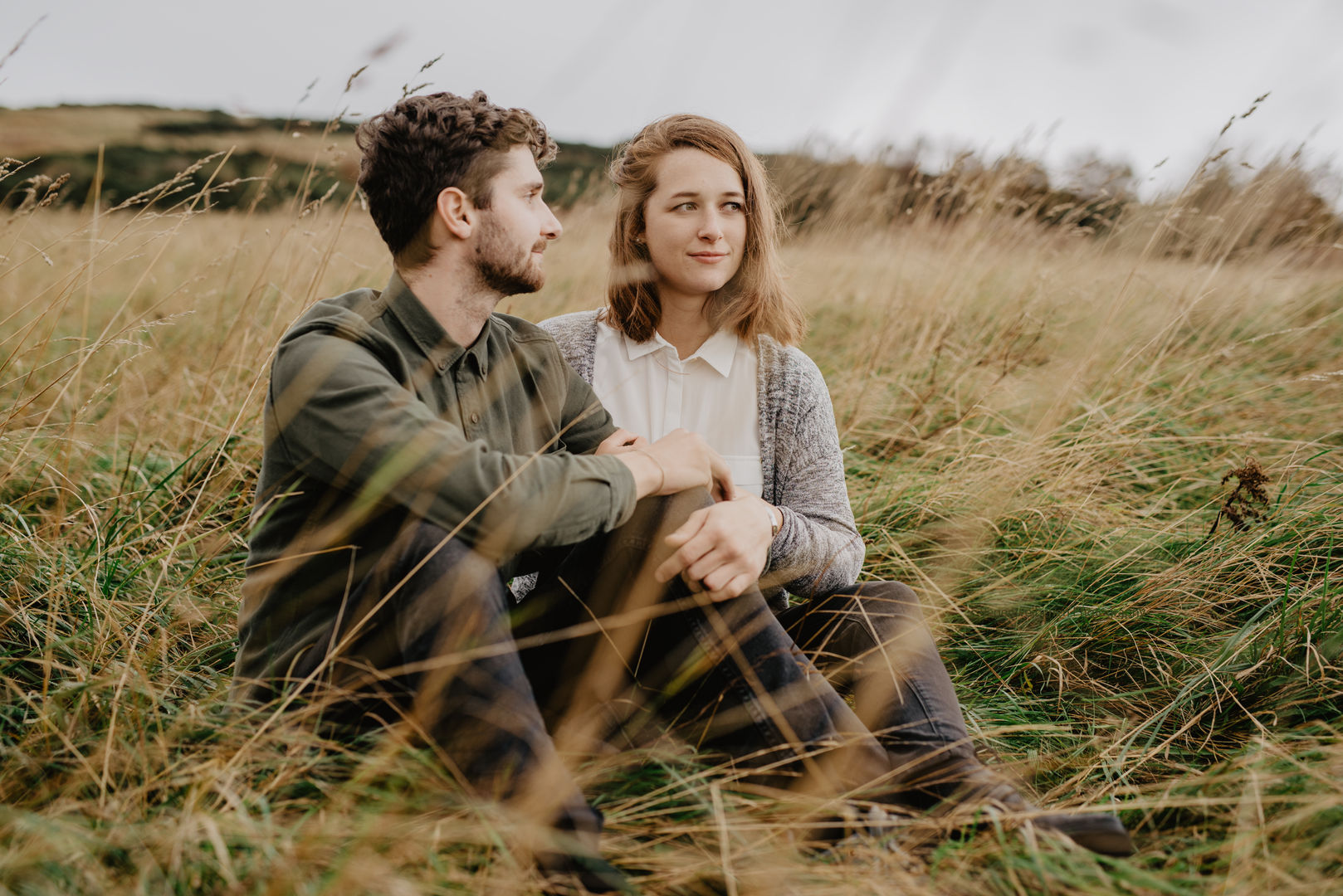 Nature Lovers couple photo-shoot in Edinburgh, Scotland