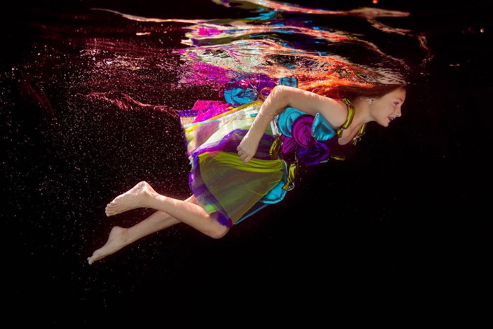 candyland, concept photo shoot, black backdrop, lollipop dress, Chasing Fireflies, girl