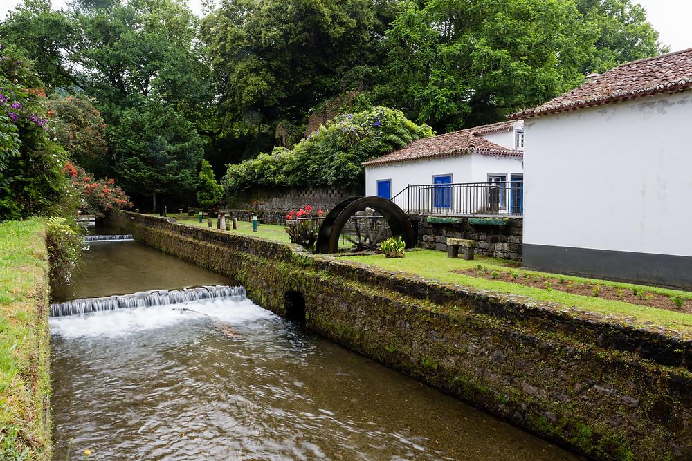 Terra Nostra springs Azores