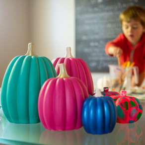 Easy Painted Pumpkin Idea – No Carve Halloween Pumpkin Painting