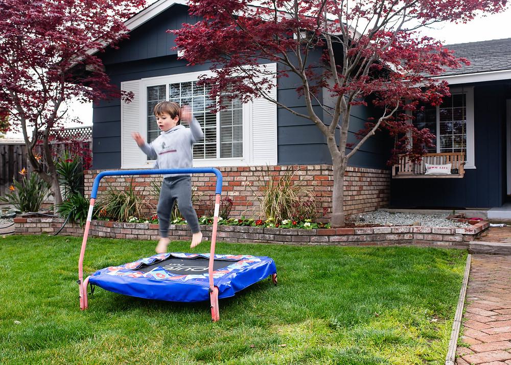 toddler trampoline, San Jose, California