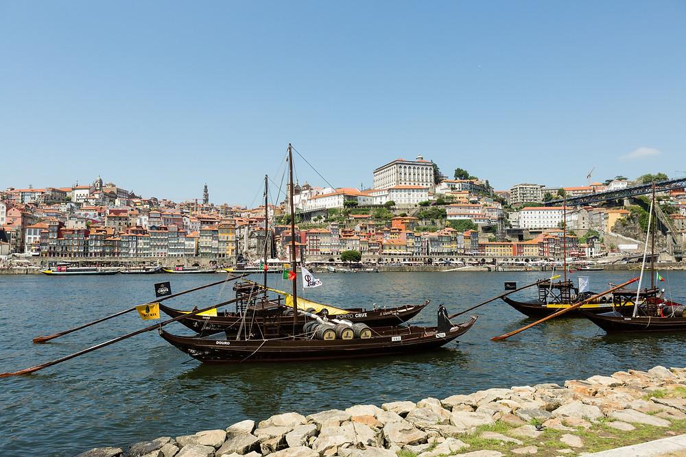 Porto, Portugal river boats