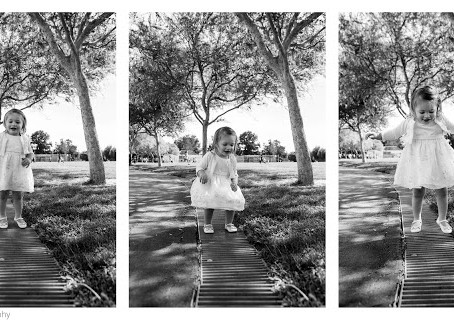 Grabriella, she jumps and she plays!