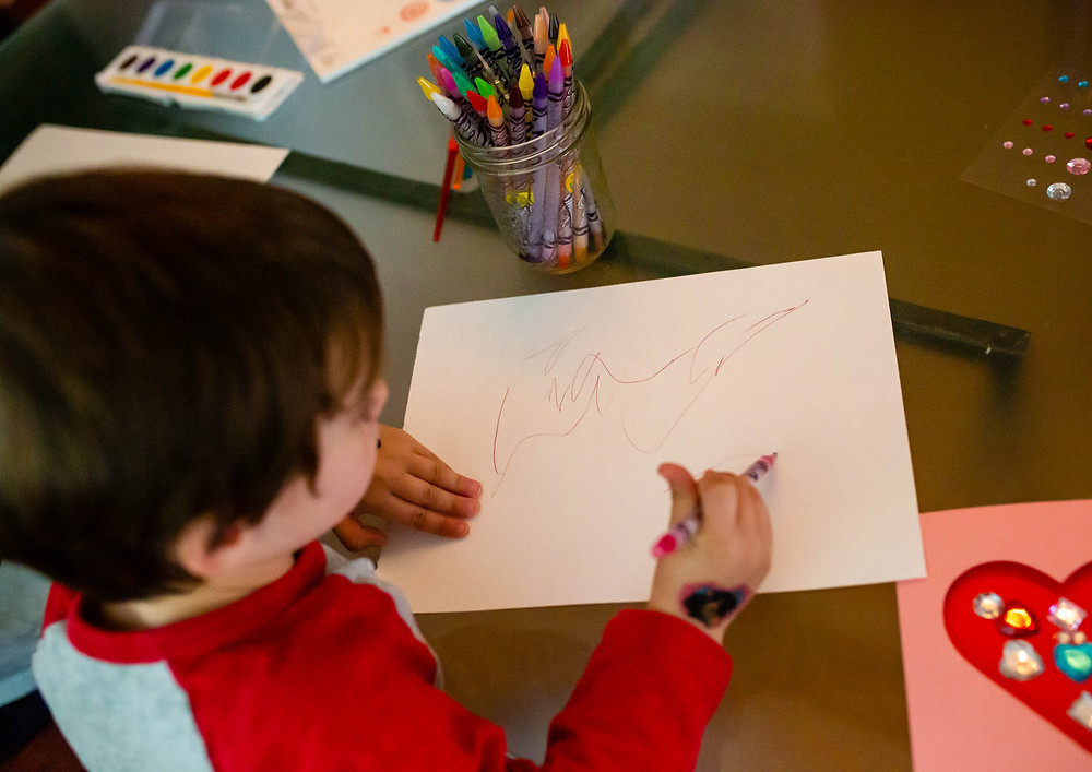 Valentine's Day, crafts for toddlers, Mary Bea Photography
