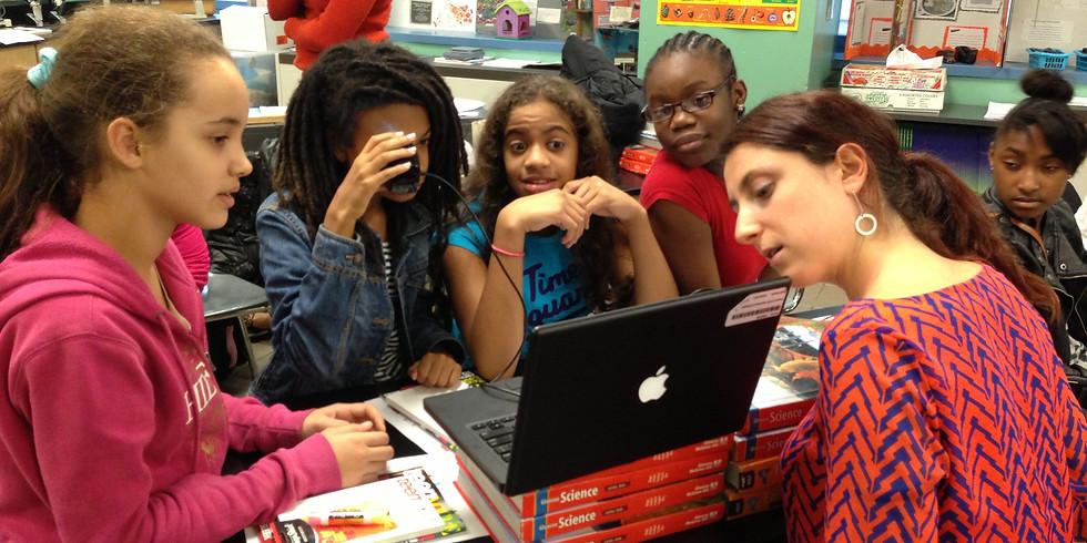 GIRLS BREAK INTO STEM!
