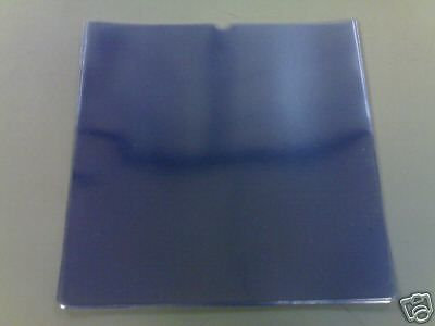 """12"""" Glass Clear PVC Record Sleeves"""
