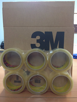 3M Clear Packing Tape 66m x 48mm