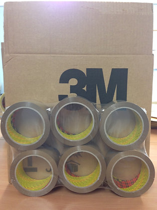 3M Brown/Buff Packing Tape