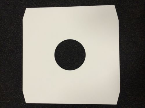 """12"""" White Paper Record Sleeves"""