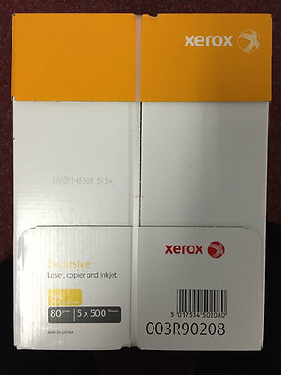 Xerox Exclusive 80GSM A4 paper