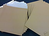 """7"""" Brown Record Mailers with stiffeners Qty 200+"""