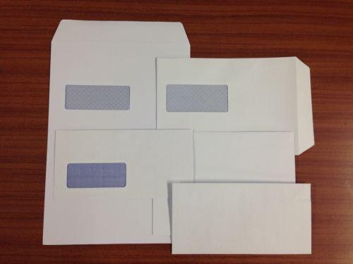 C4 White Envelopes Self Seal