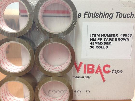 Vibac Brown/ Brown Packing Tape