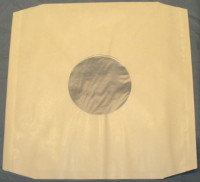 """12"""" White Polylined Record Sleeves"""