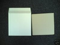 """7"""" White Record Mailers with stiffeners Qty 10+"""