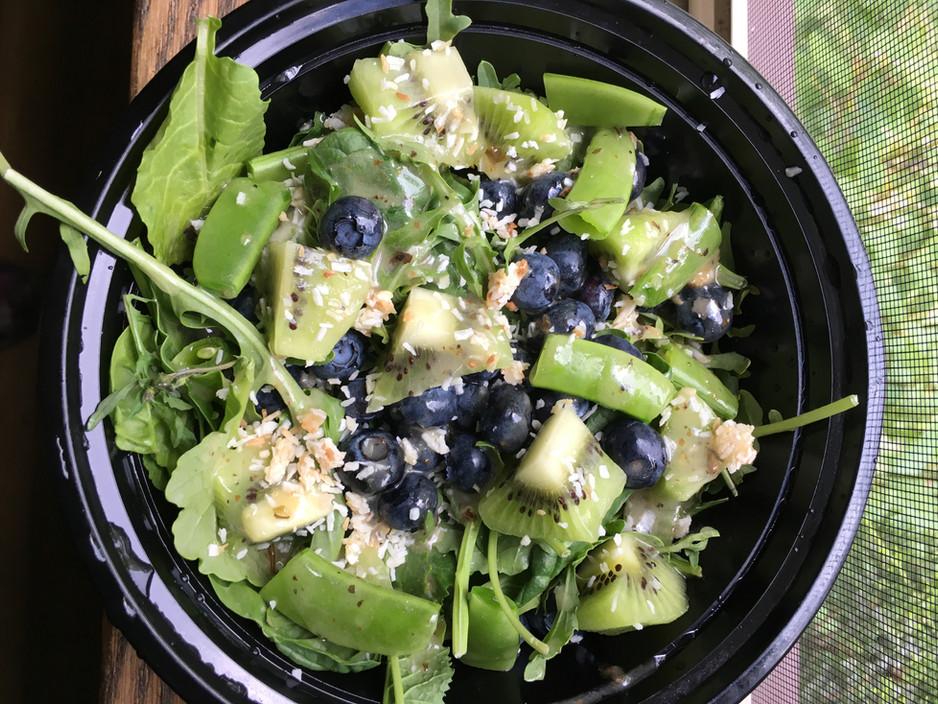 Salad for dessert!