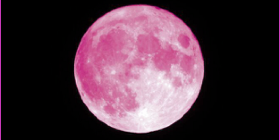 In-Person -- Full Pink Super Moon in Scorpio Sound Healing with Tibetan Bowls and Gongs