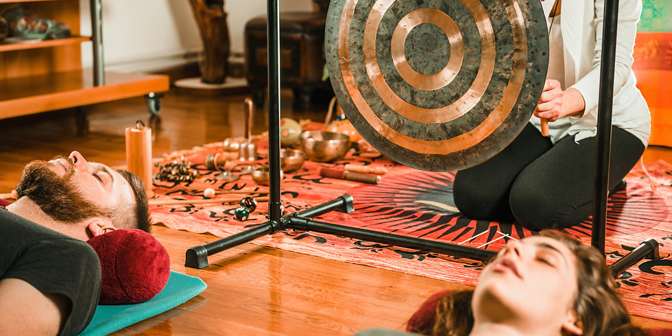 In-Person Oceans of Sound: Sound Healing with Tibetan Bowls and Gongs