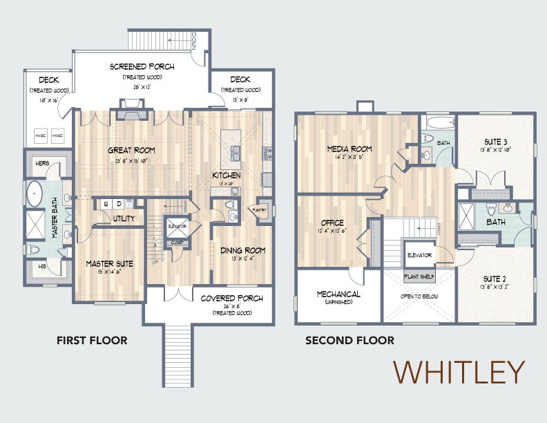Whitley Floorplan