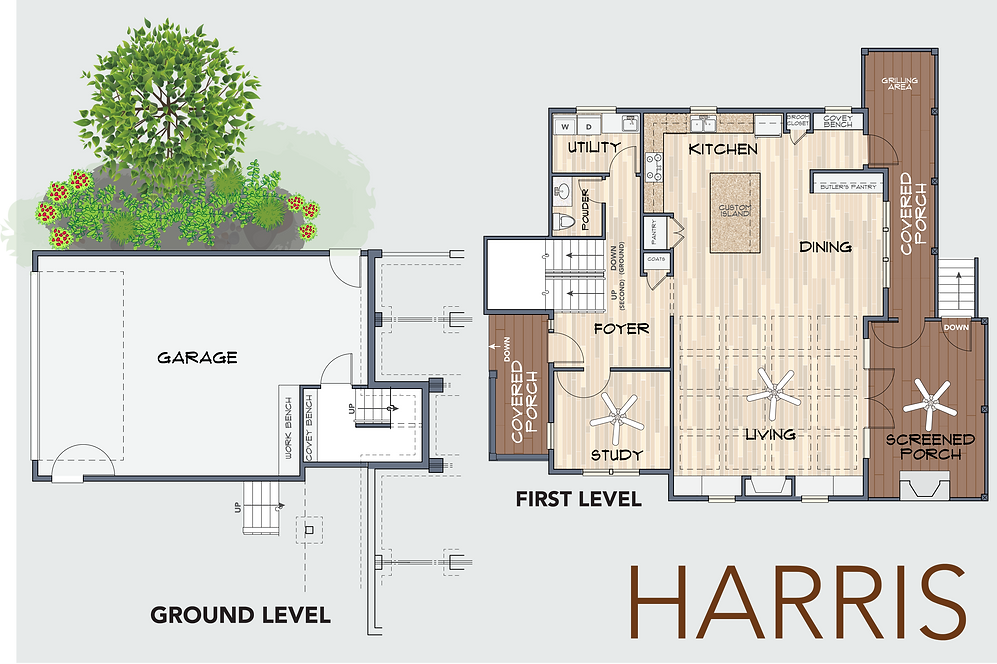 The Harris Floor plan 5
