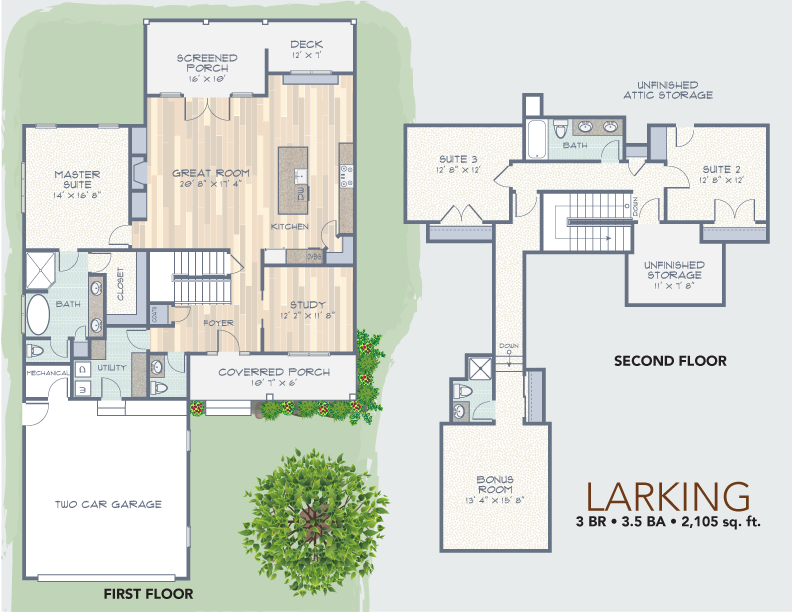 Larking Floorplan