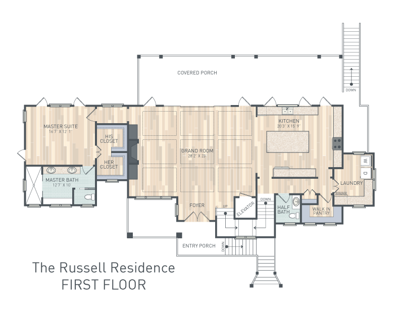The Russell Floorplan