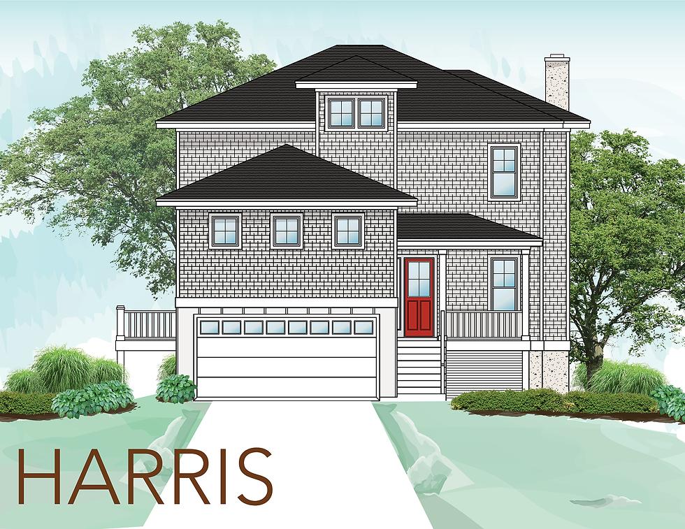 The Harris Floor plan 5