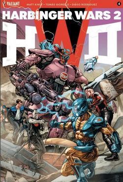 Harbinger Wars 2, número 4