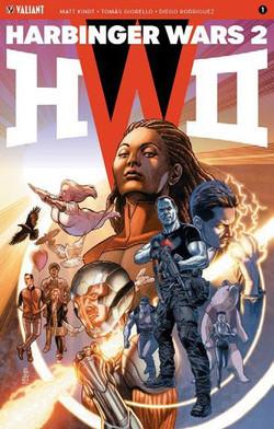 Harbinger Wars 2, núm. 1