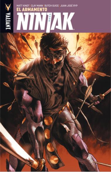 Ninjak 1: El Armamento
